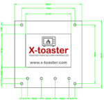 X-toaster – Front Panel Layout
